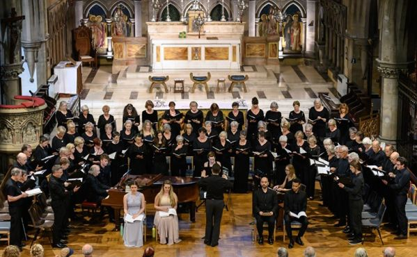 Hastings Philharmonic Choir at Christ Church by Peter Mould