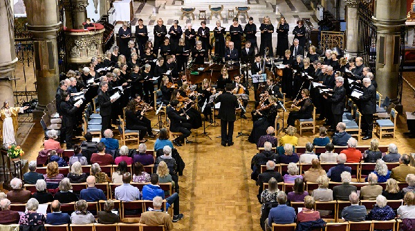 Hastings Philharmonic began their new season with a concert in Christ Church, St Leonards.