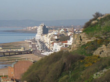 Hastings from the East Hill by Paul Way-Rider