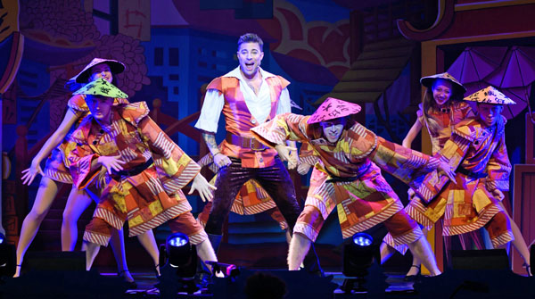 A scene from Aladdin at the White Rock Theatre