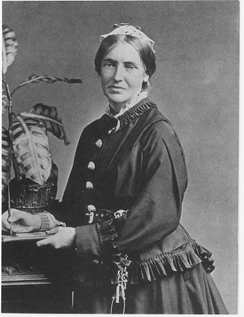 Painting of Marianne North.