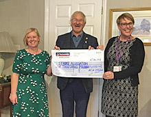 £1,000 for the Stroke Association
