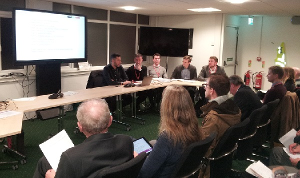 Representatives of the five consultants working on the project gave an update on their work to the planning forum.