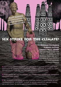 Sex Strike for the Climate