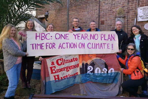 Hastings Green don't feel enough has been done since a climate emergency was declared in the borough a year ago.