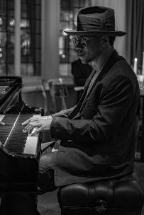 Reuben James brings his 20 piece band on Thursday