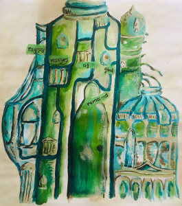 The Palace of Green Porcelain imagined by Alice Beadle