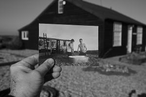 Bathtime Prospect Cottage, 2020 © Richard Heslop