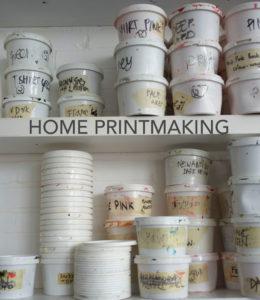 Deborah Bowness:Home Printmaking