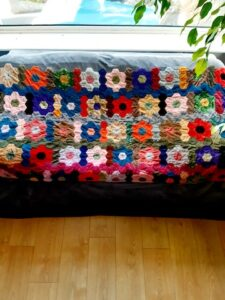 Susan Bain Handmade Throw