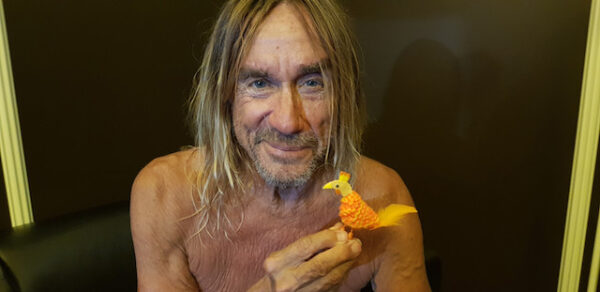 Iggy Pop and Chicken © Kevin Armstrong
