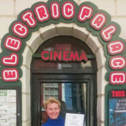 Rebecca Marshall outside Electric Palace cinema in Hastings Old Town