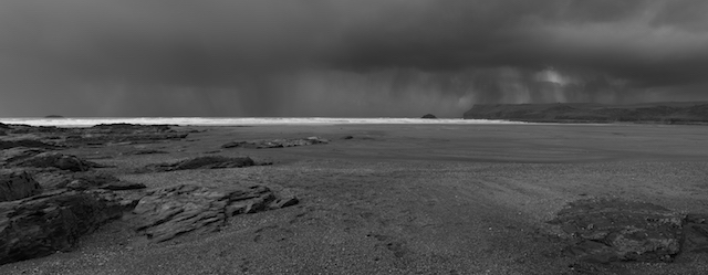Storm. Polzeath, Cornwall