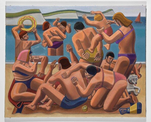 The Seaside by William Roberts Arts Council Collection, Southbank Centre, London © Estate of John David Roberts courtesy of the William Roberts Society. By permission of the Treasury Solicitor.