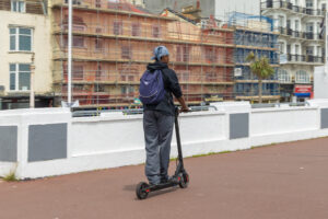 Electric scooter on the promenade © Russel Jacobs